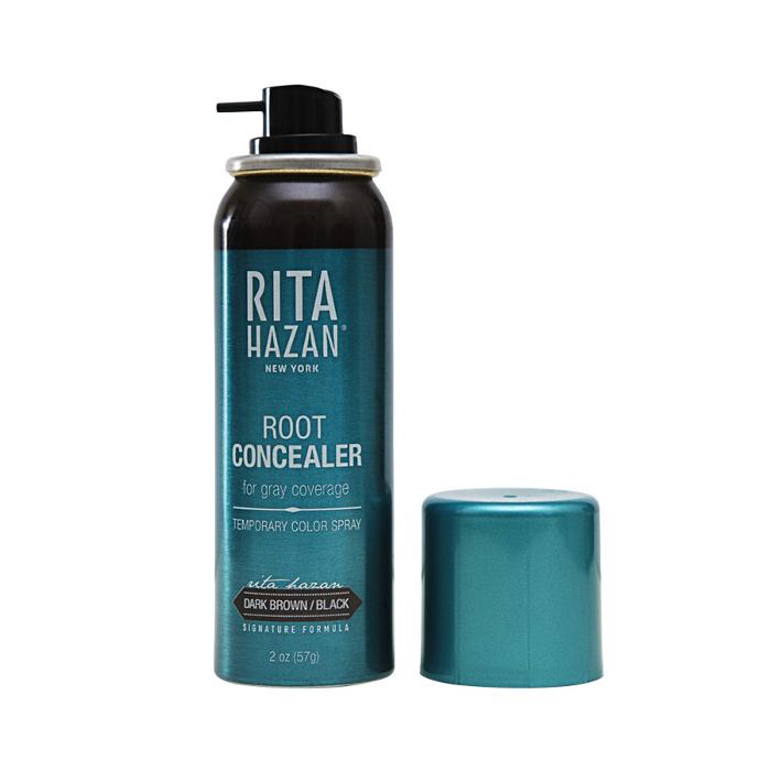 7 Weird Beauty Products That Work - Beauty Basics | Rita Hazan Root Concealer Spray