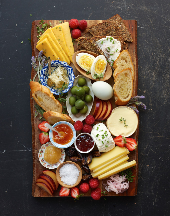Brunch Recipes for Mother's Day - Breakfast Board | A Cup of Joe