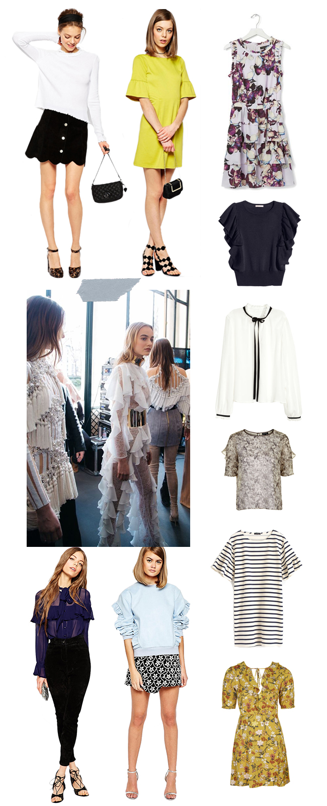 Ruffles Spring 2016 | How She'd Wear It with Style and Cheek
