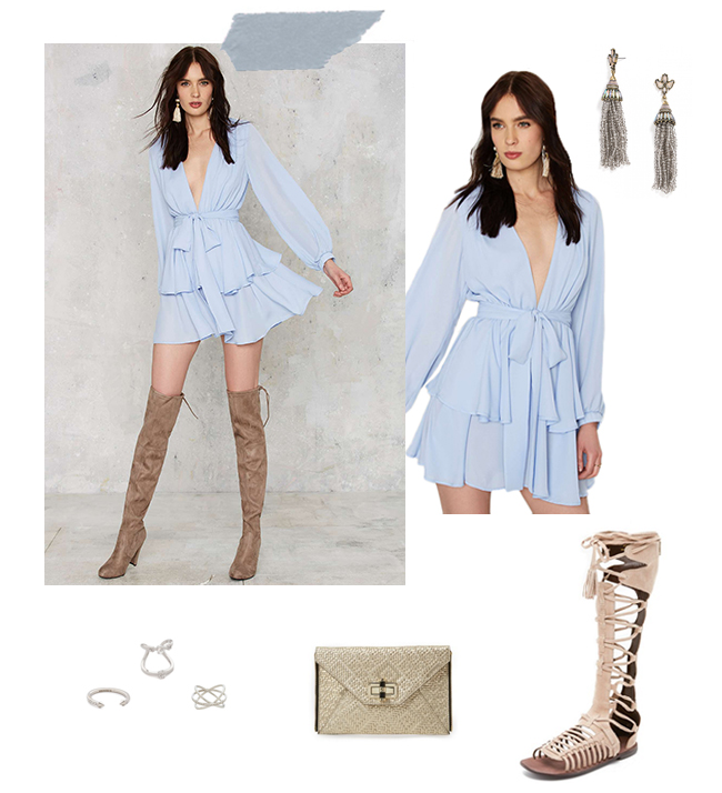 Ruffle Hem | How She'd Wear It with Style and Cheek