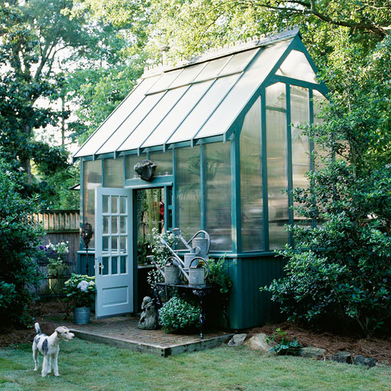 Greenhouse Inspiration - Backyard Greenhouse | Better Homes and Gardens
