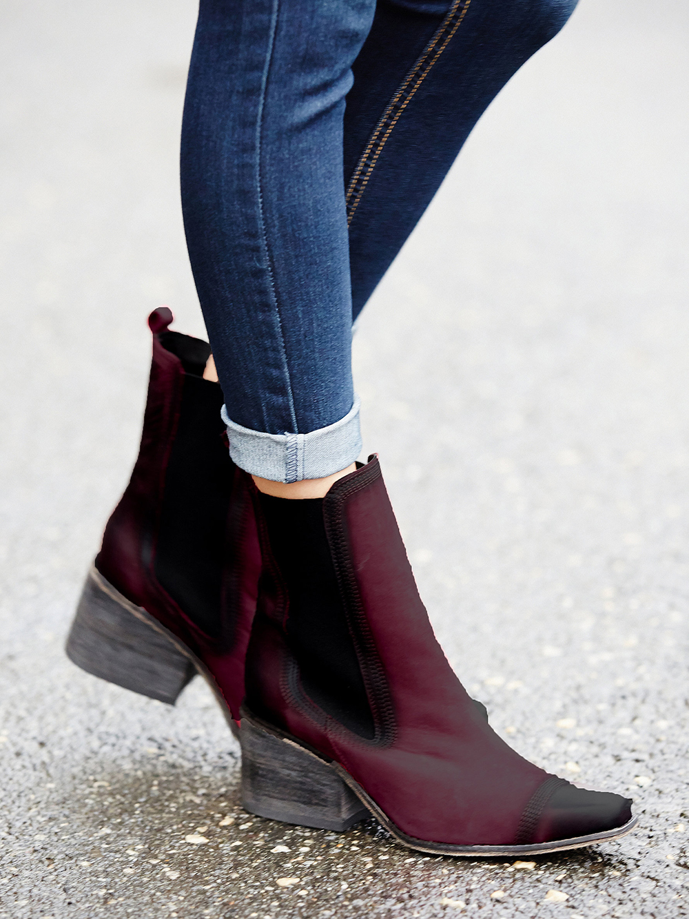 Western Inspired Boots - Free People Benson Chelsea Boot