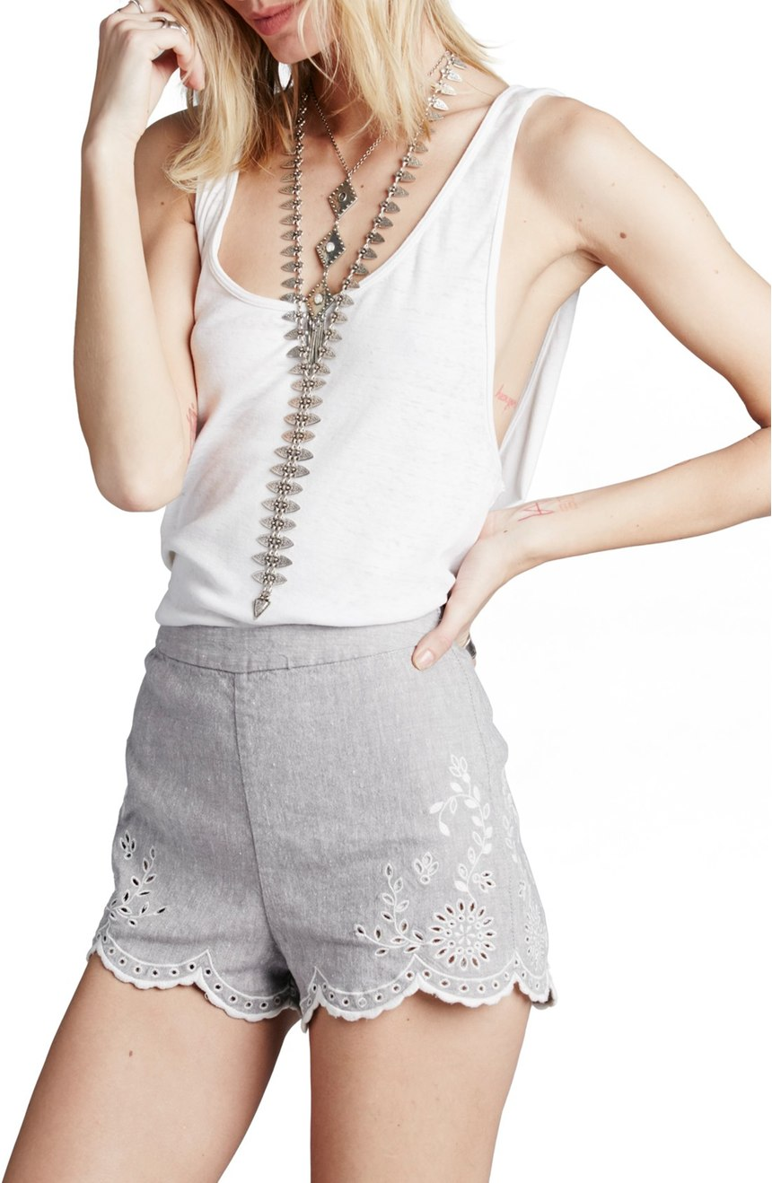Free People 'Life's Too Short' Shorts - Shorts Shopping