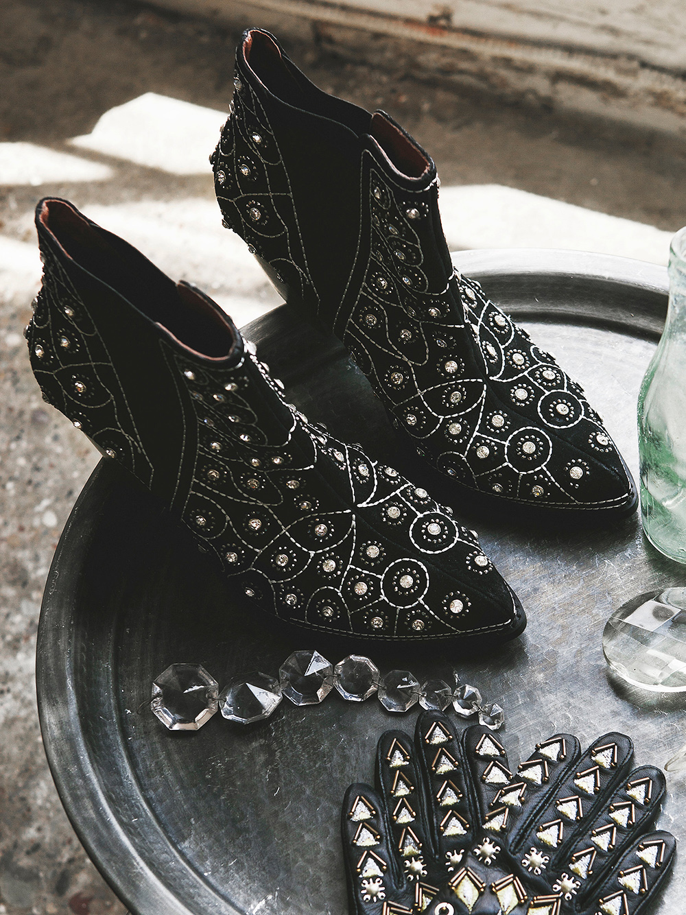 Western Inspired Boots - Jeffrey Campbell x Free People After Dark Boot