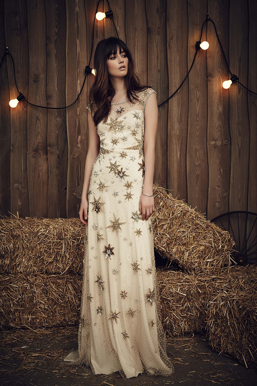 Jenny Packham Bridal Spring 2017 09 - Spring/Summer Wedding Dress Inspiration