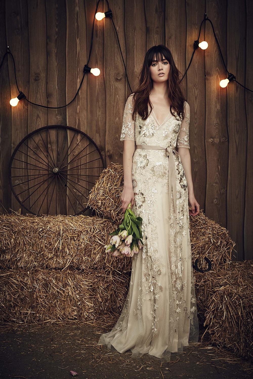 Jenny Packham Bridal Spring 2017 15 - Spring/Summer Wedding Dress Inspiration