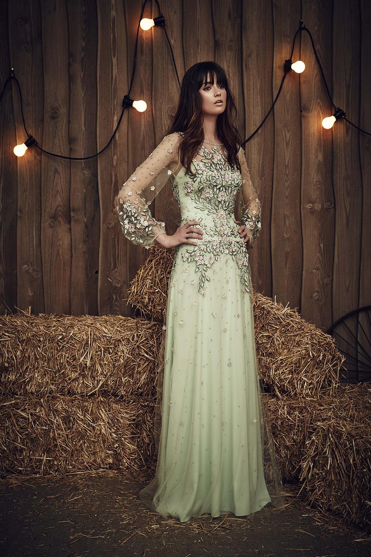 Jenny Packham Bridal Spring 2017 17 - Spring/Summer Wedding Dress Inspiration