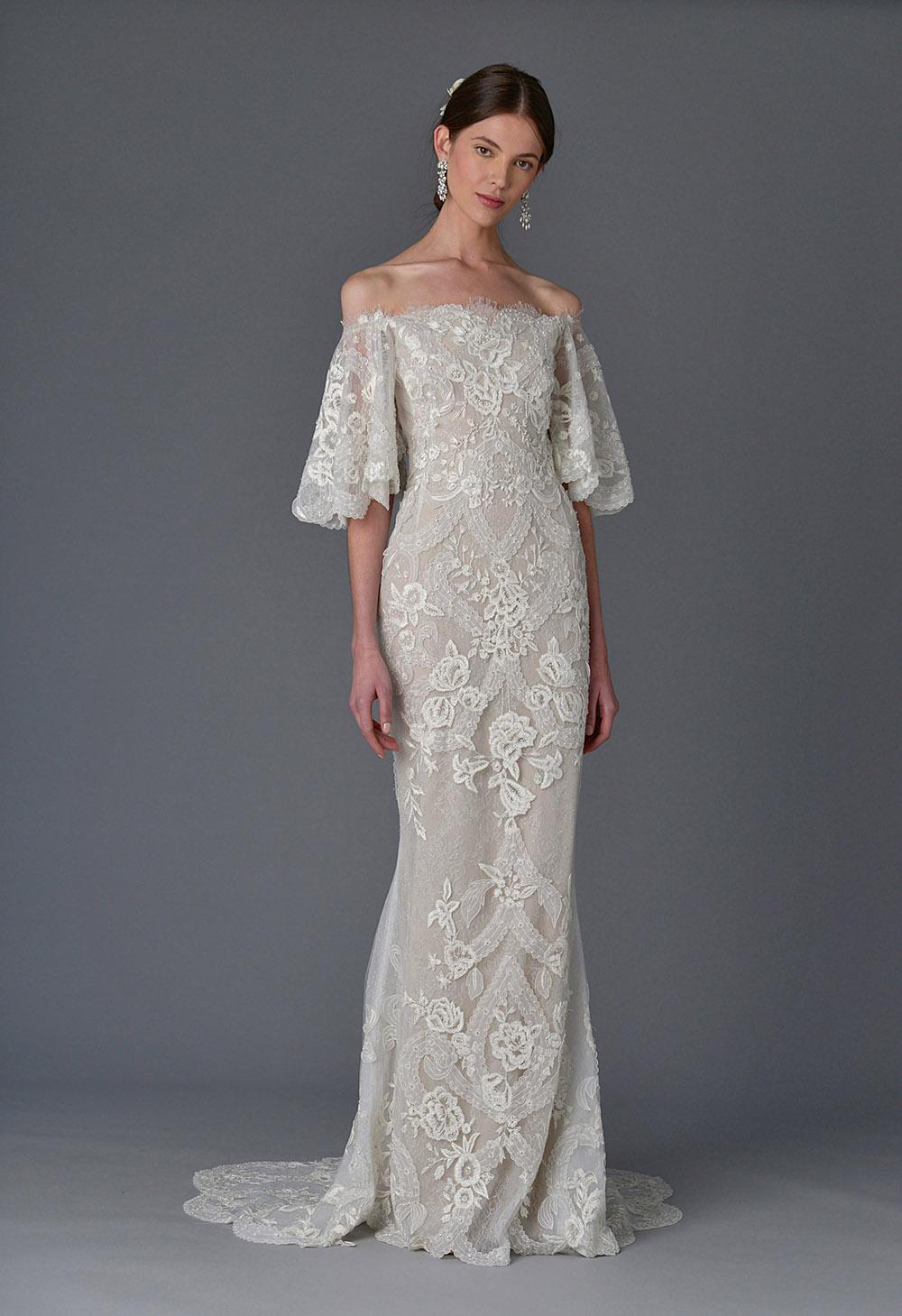 Marchesa Spring and Summer 2017 Bridal Collection 02 - Spring/Summer Wedding Dress Inspiration