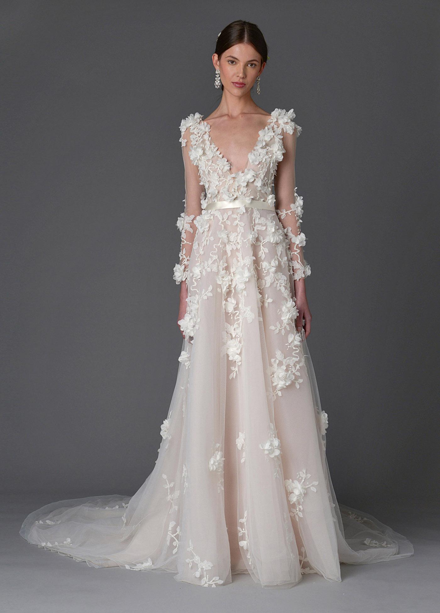 Marchesa Spring and Summer 2017 Bridal Collection 1 - Spring/Summer Wedding Dress Inspiration