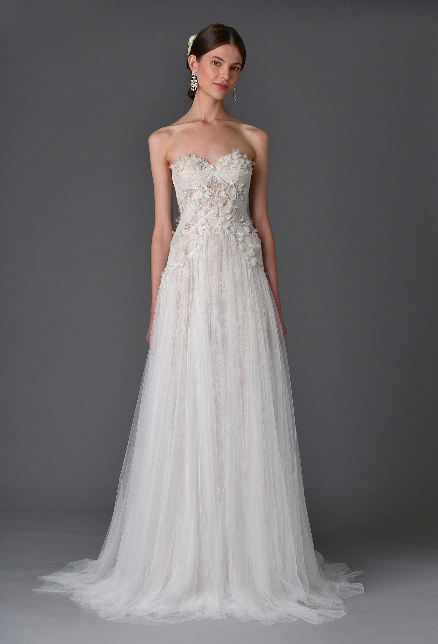 Marchesa Spring and Summer 2017 Bridal Collection 12 - Spring/Summer Wedding Dress Inspiration
