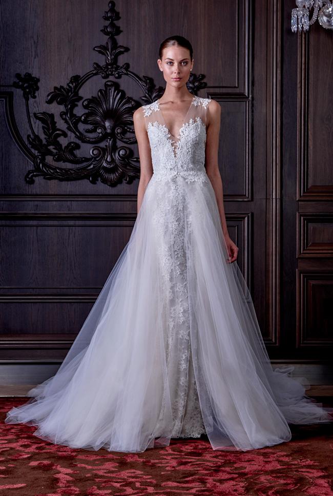 Monique Lhuillier Spring Summer Bridal Collection 11 - Spring/Summer Wedding Dress Inspiration