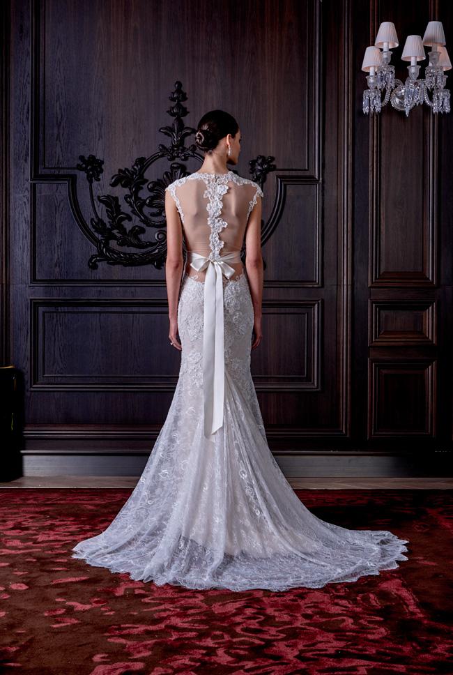 Monique Lhuillier Spring Summer Bridal Collection 9 rv - Spring/Summer Wedding Dress Inspiration