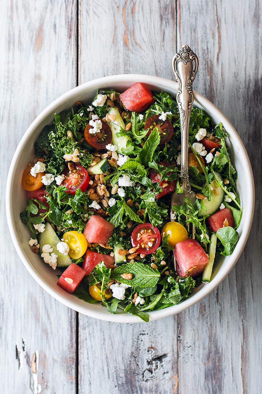Early Summer Salad | Honestly Yum - 10 Party Ready Fourth of July Recipes