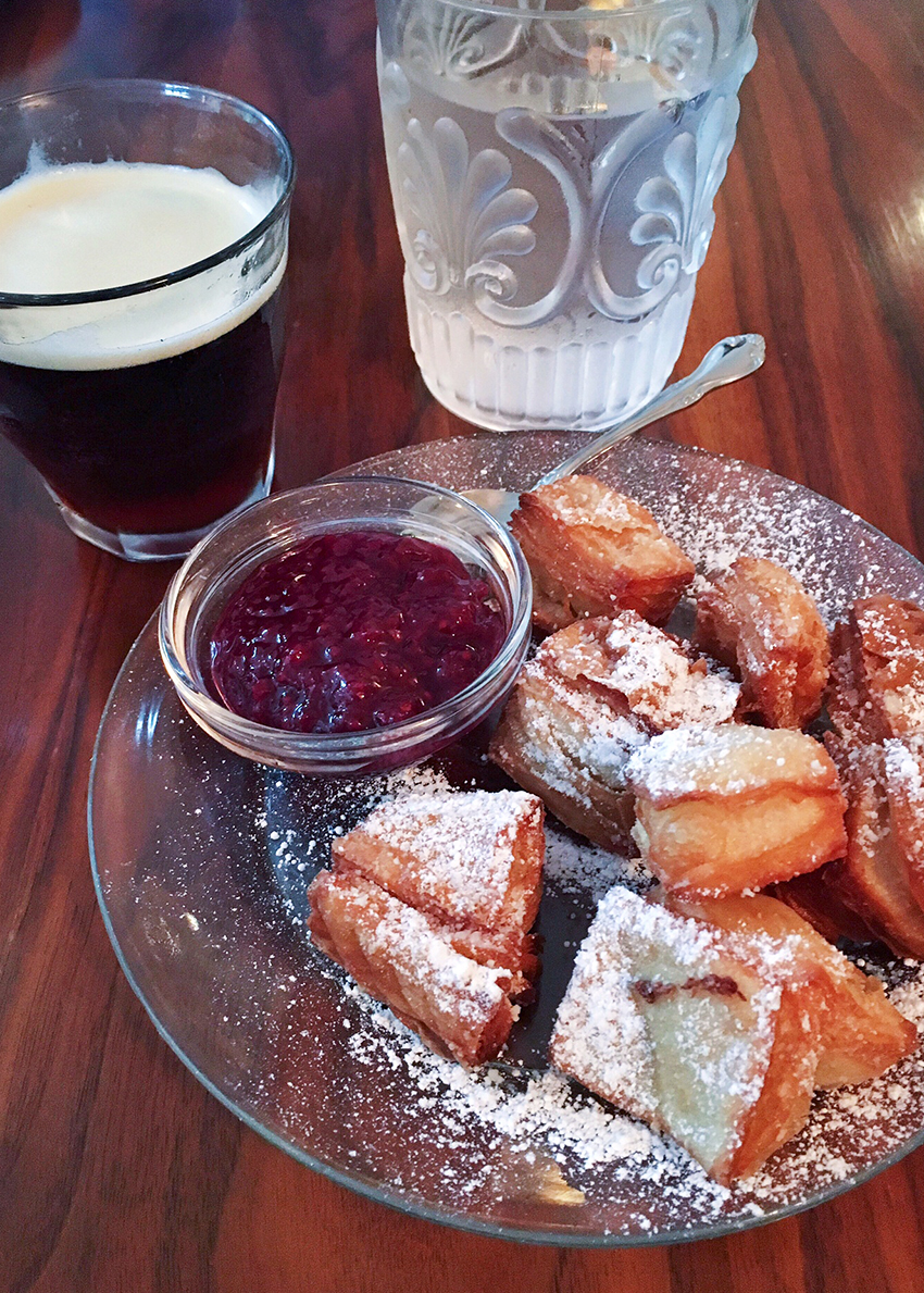 Elizabeth St. Café - beignets and jam - Five Restaurants to Try in Austin