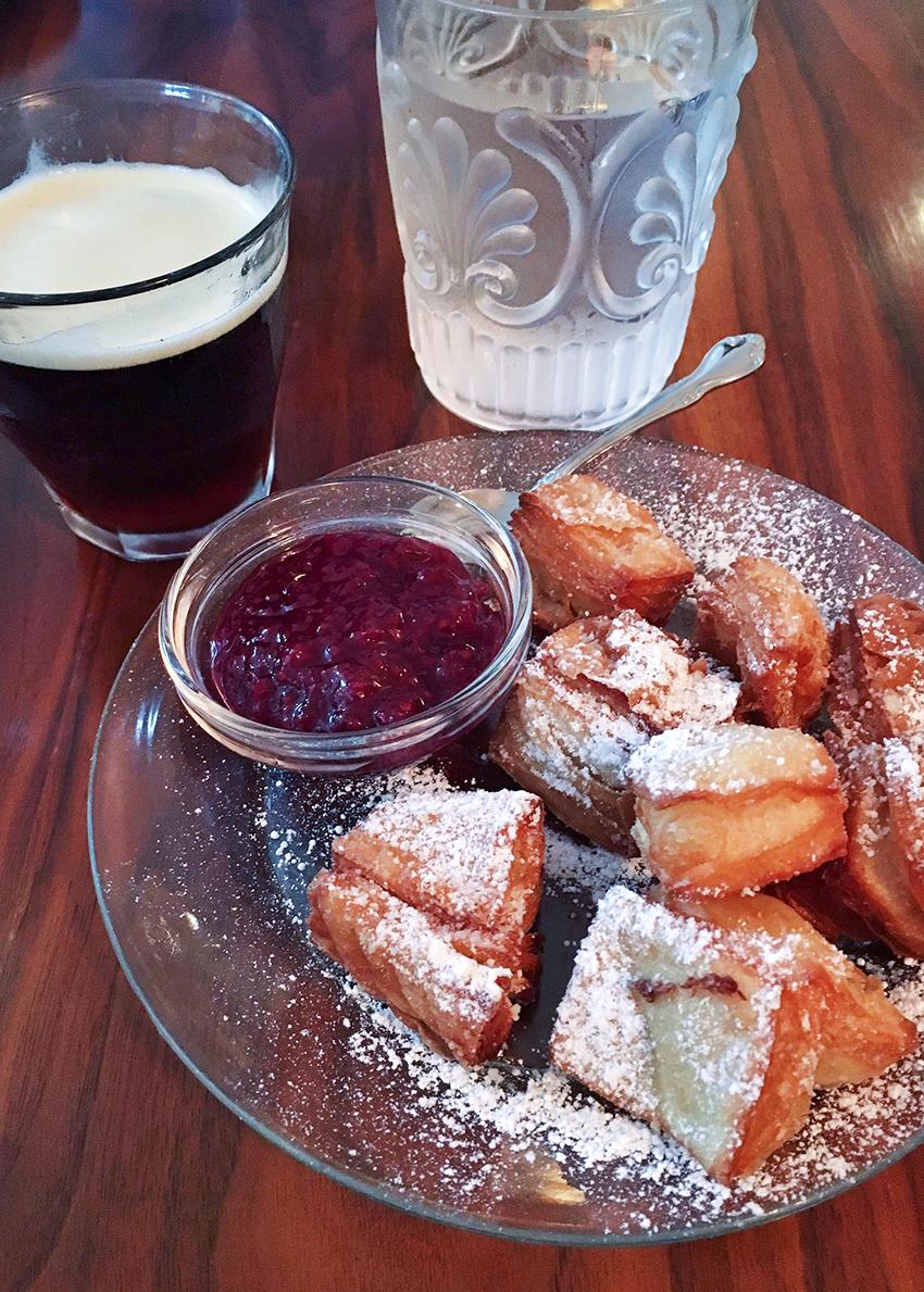 Elizabeth St. Café - beignets and jam - Five Restaurants to Try in Austin