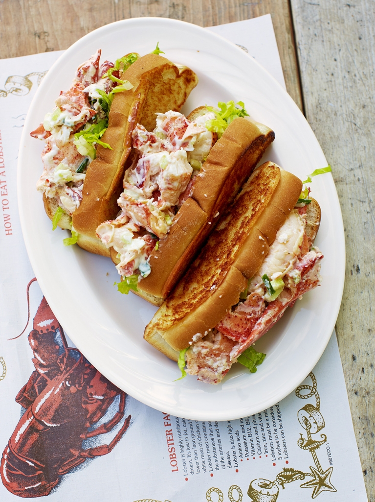 Grilled Lobster Rolls | Jamie Oliver - 10 Party Ready Fourth of July Recipes