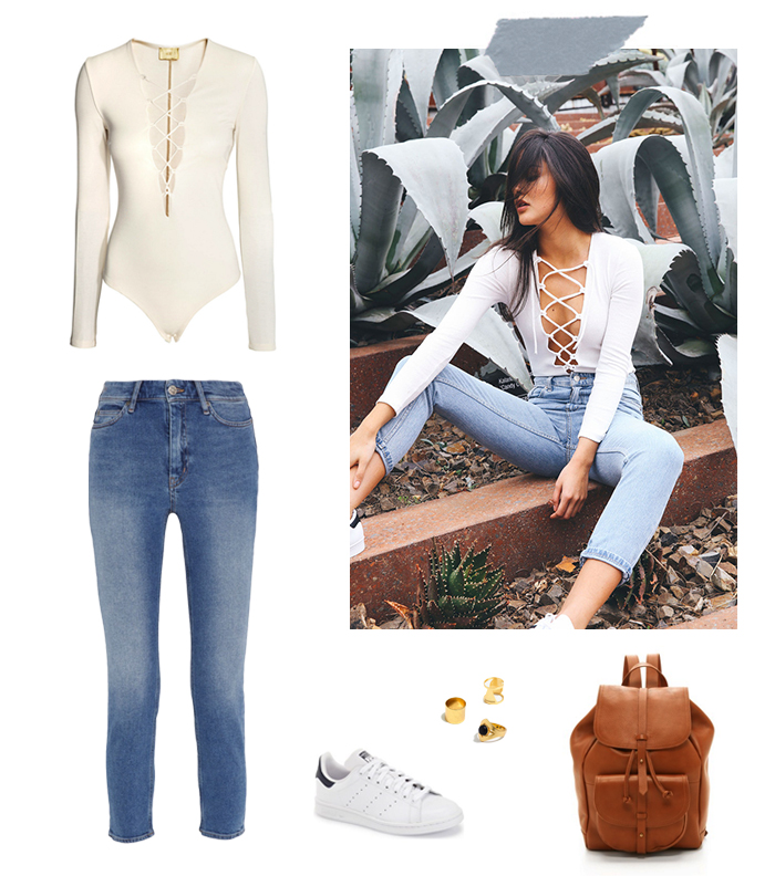 Bodysuits and Jeans | How She'd Wear It with Style and Cheek