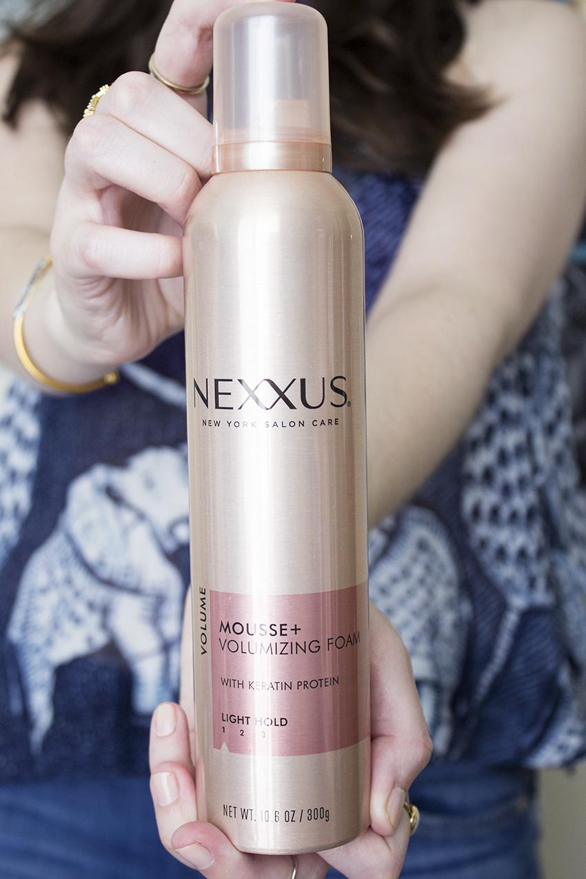 Nexxus New York Salon Care Comb Mousse Plus Volumizing Foam - Nexxus New York Salon Care Review