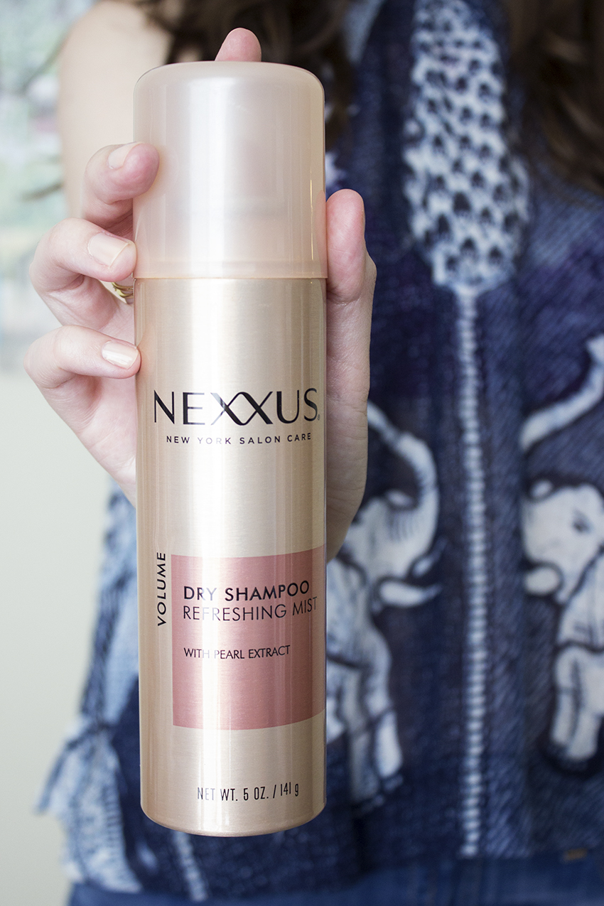 Nexxus New York Salon Care Dry Shampoo Refreshing Mist - Nexxus New York Salon Care Review