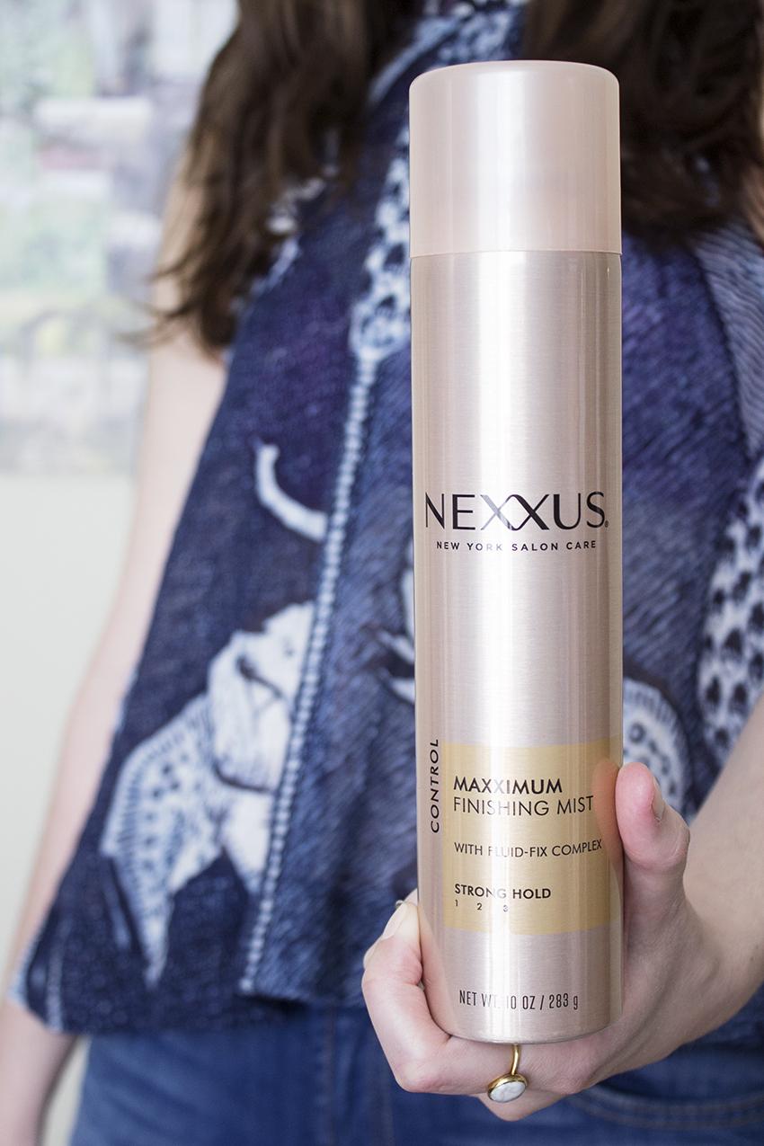 Nexxus New York Salon Care Maxximum Finishing Mist PLUS - Nexxus New York Salon Care Review