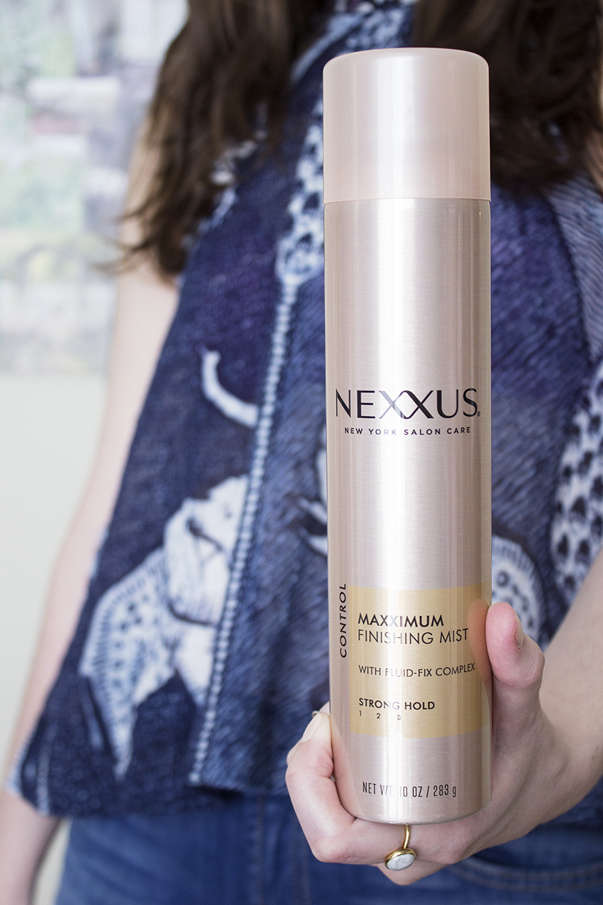 Nexxus New York Salon Care Maxximum Finishing Mist PLUS - Nexxus New York Salon Care Review