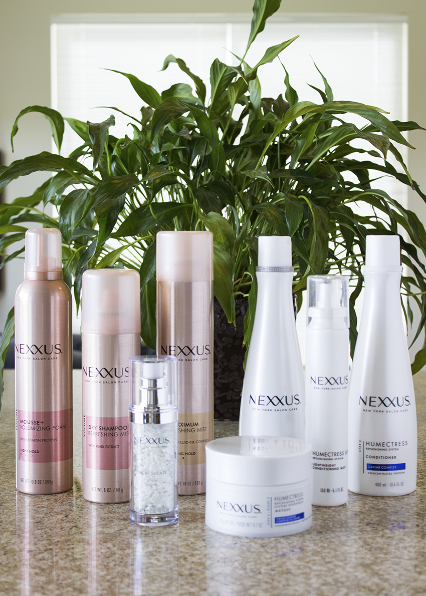 Nexxus New York Salon Care THERAPPE & HUMECTRESS System and Styling Products - Nexxus New York Salon Care Review