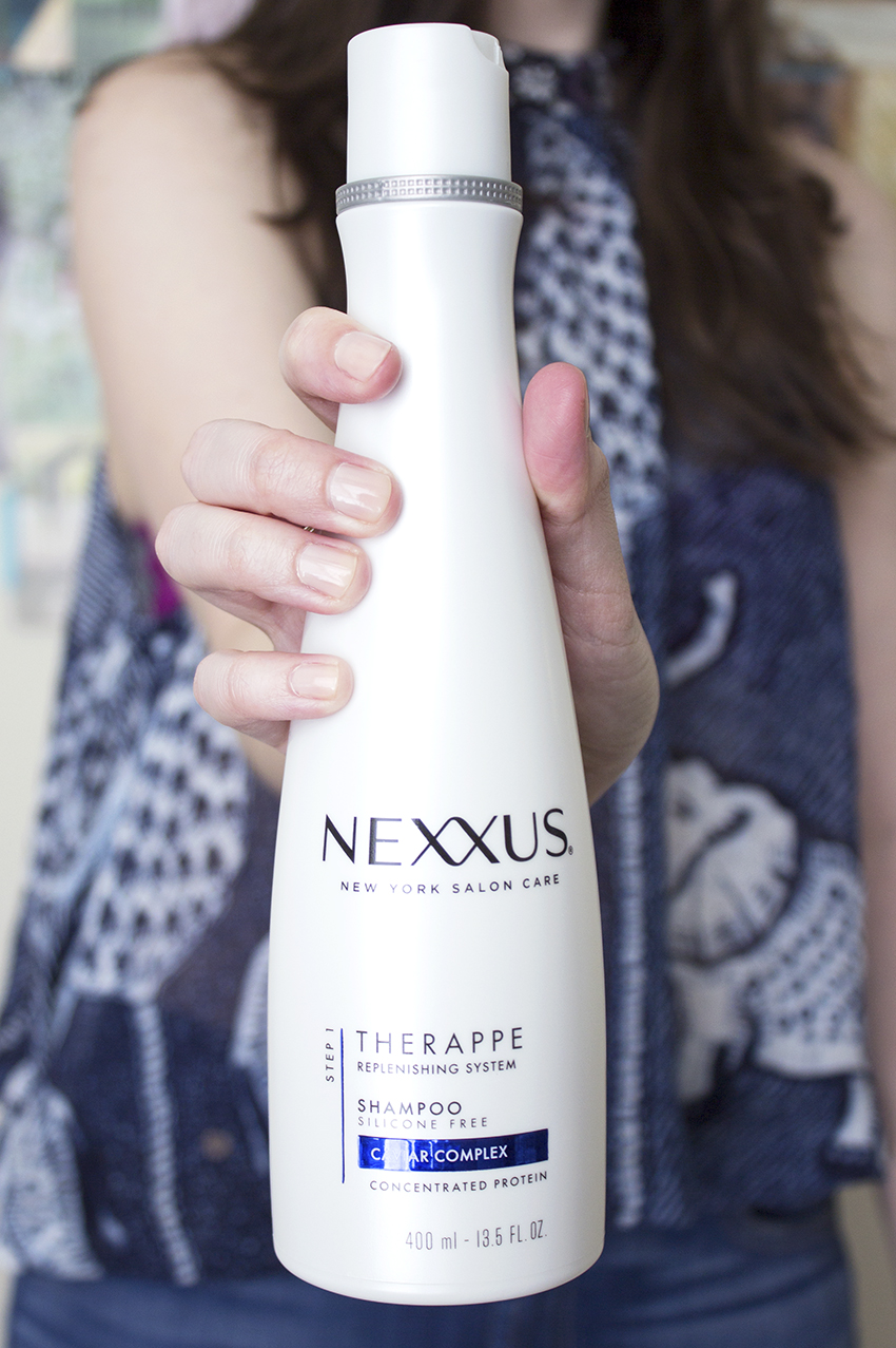 Nexxus New York Salon Care THERAPPE Replenishing Shampoo - Nexxus New York Salon Care Review