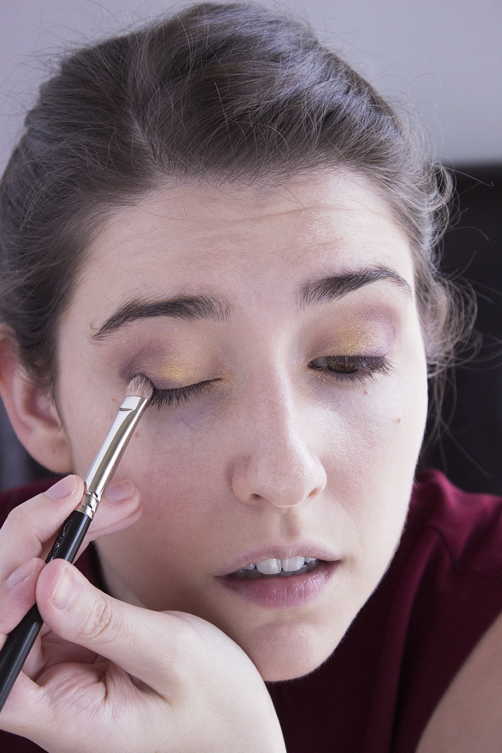 Sultry Summer Makeup Look Step 3 Pacifica Eye Shadow Urchin