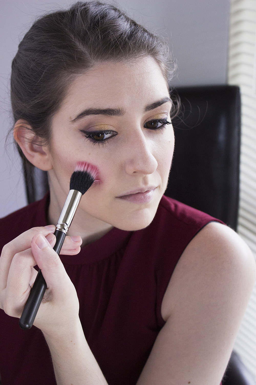 Sultry Summer Makeup Look with Bartell Drugs Step 7 Maybelline Master Contour 2 Blush