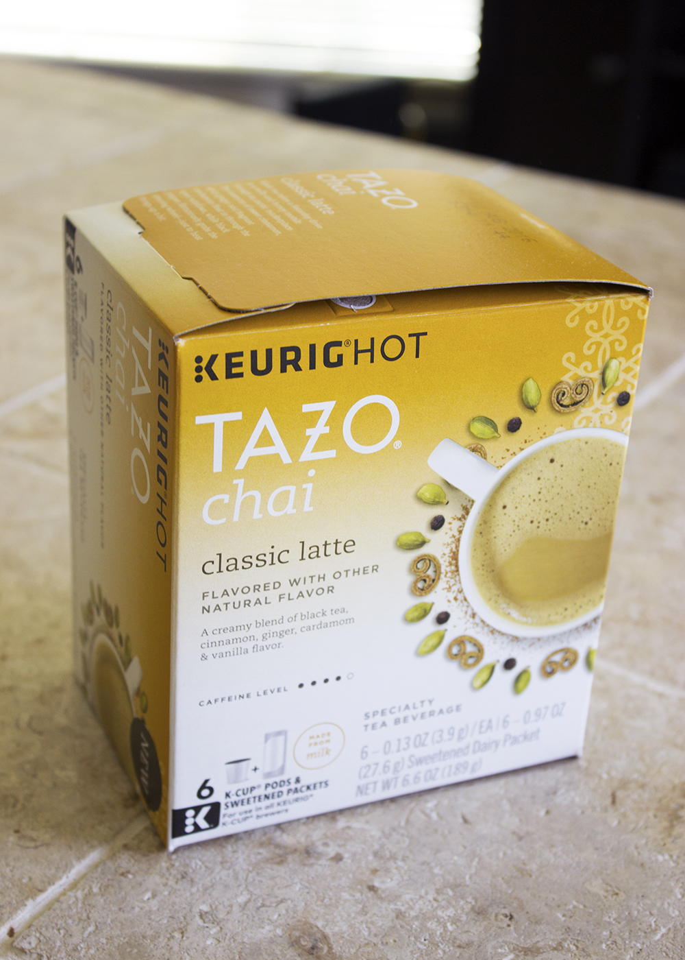 TAZO® Chai Latte K-Cup® Pods review