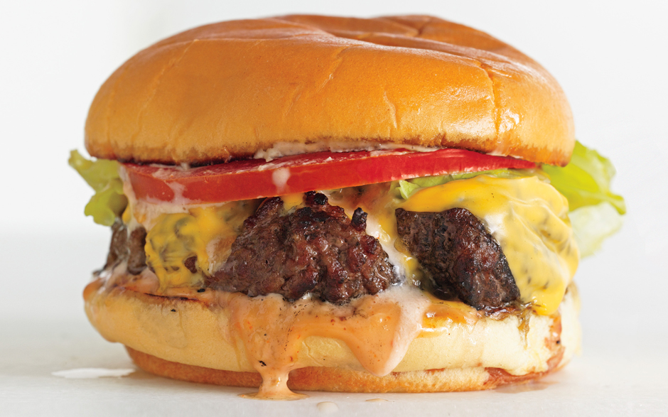The BA Burger Deluxe | bon appétit - 10 Party Ready Fourth of July Recipes