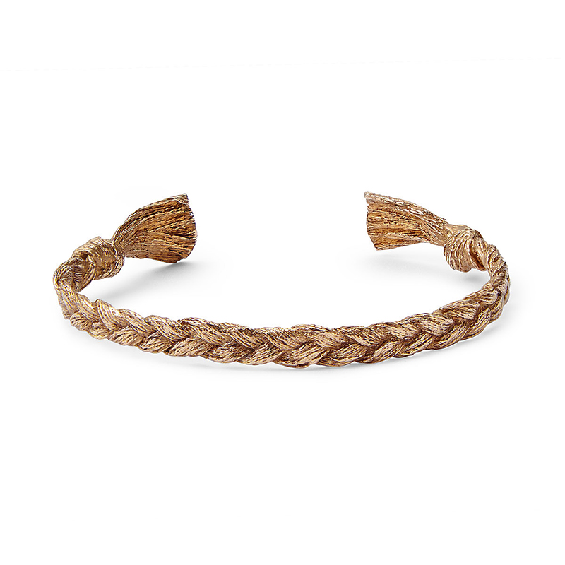 UncommonGoods Besties Cuff In Bronze created by Shuang Li - UncommonGoods Jewelry Gift Guide for Gal Pals