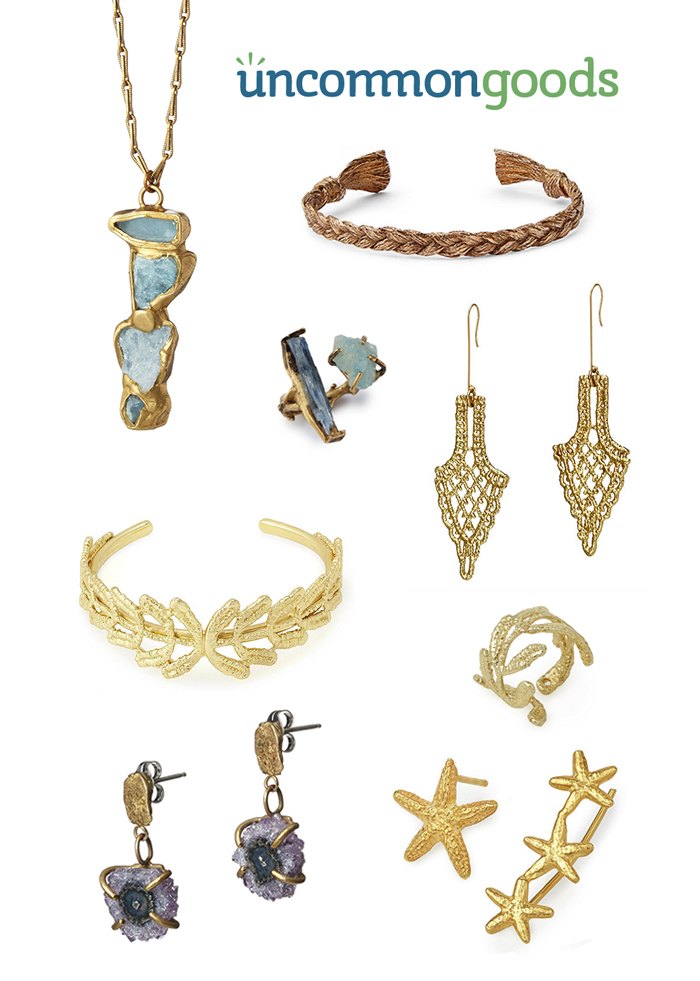 UncommonGoods Jewelry Gift Guide for Gal Pals