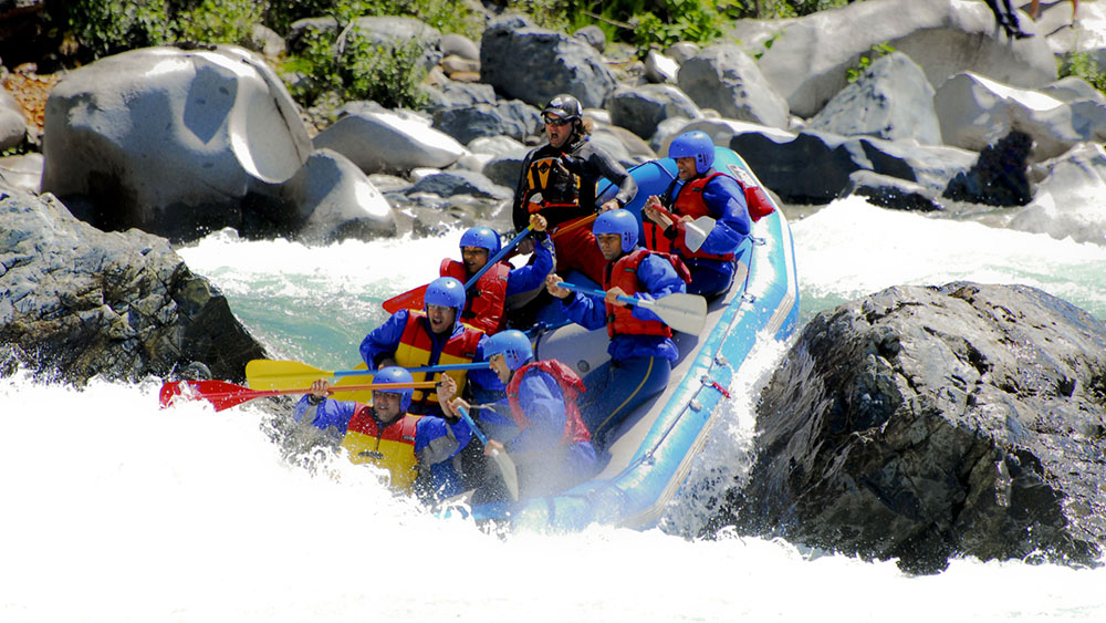 Whitewater Rafting with Outdoor Adventures & Bucky - Father's Day Ideas