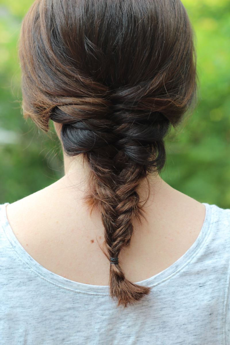 Easy Summer Hairstyles - Fishtail Braid | Beauty Basics