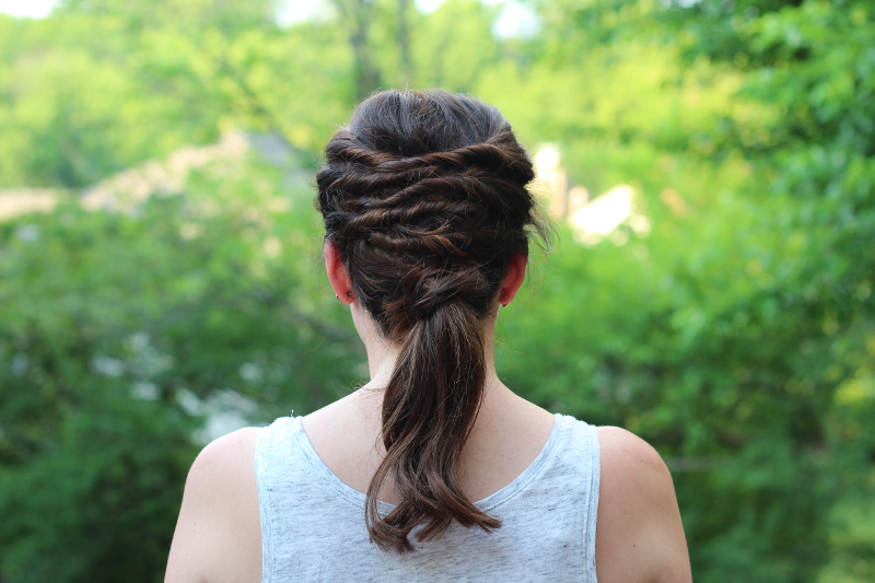Easy Summer Hairstyles - Layered Ponytail   Beauty Basics