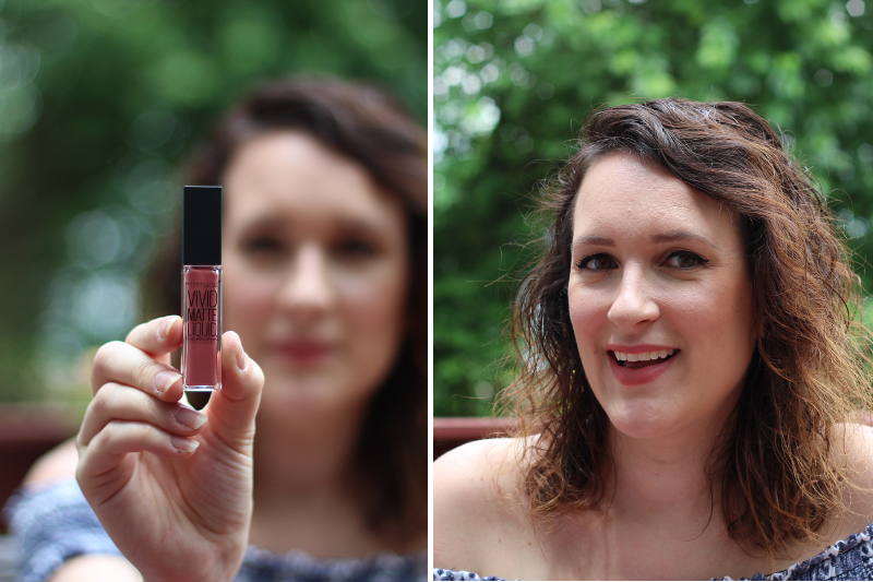 Summer Lip Colors: Maybelline Vivid Matte Liquid in Nude Flush | Beauty Basics