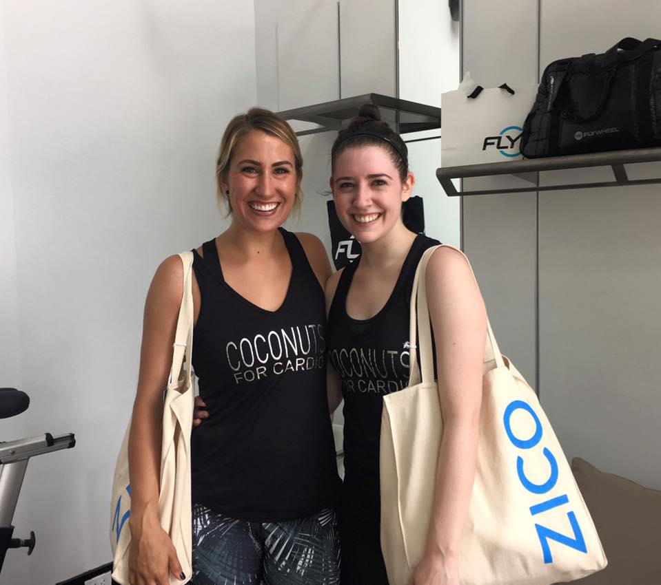 Megan Pribble of Diary of This Girl and I at the Fly with Zico event - Fly with ZICO and My First Flywheel Experience