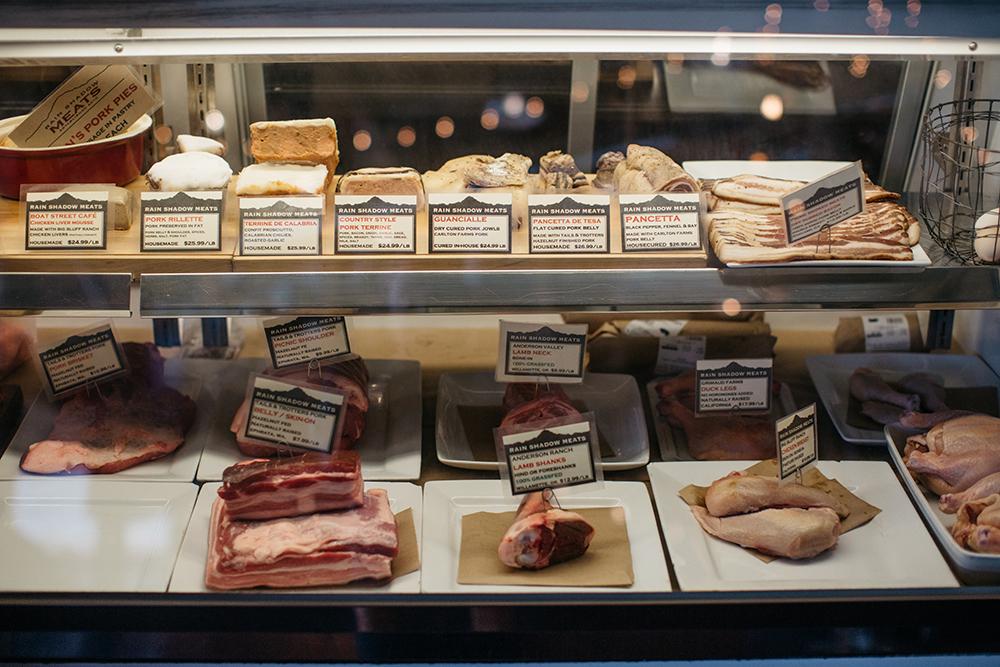 Exploring Capitol Hill's Melrose Market - Rain Shadow Meats - image credit: @josiahmichael