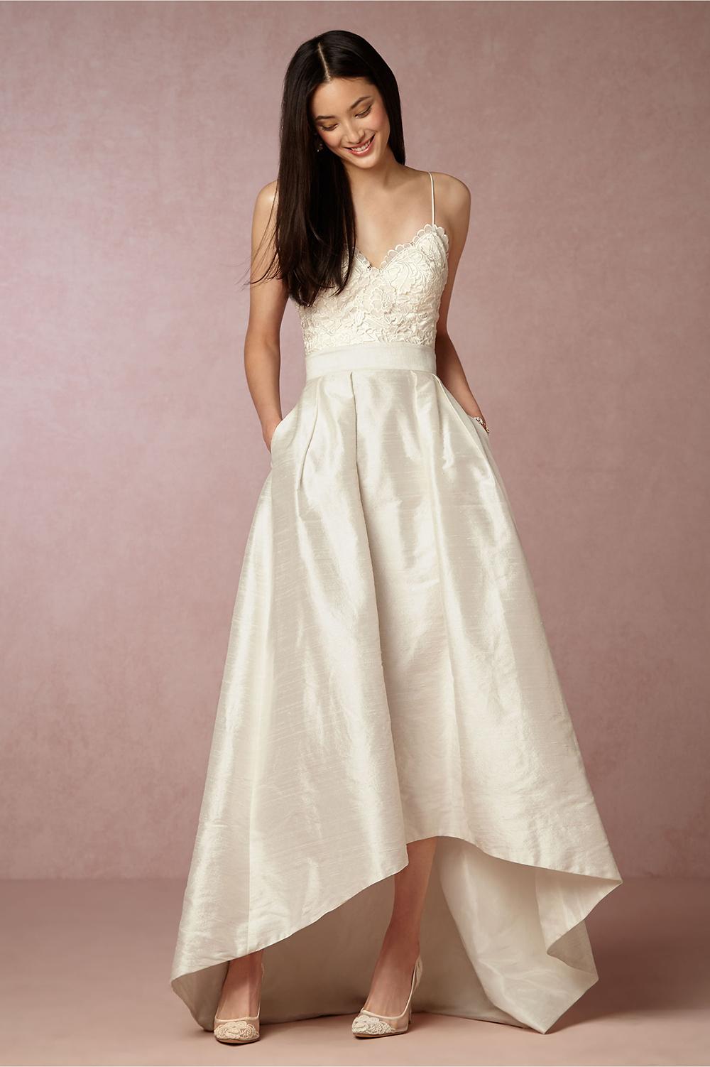BHLDN Havana Corset & Bellamy Skirt - BHLDN Wedding Gowns