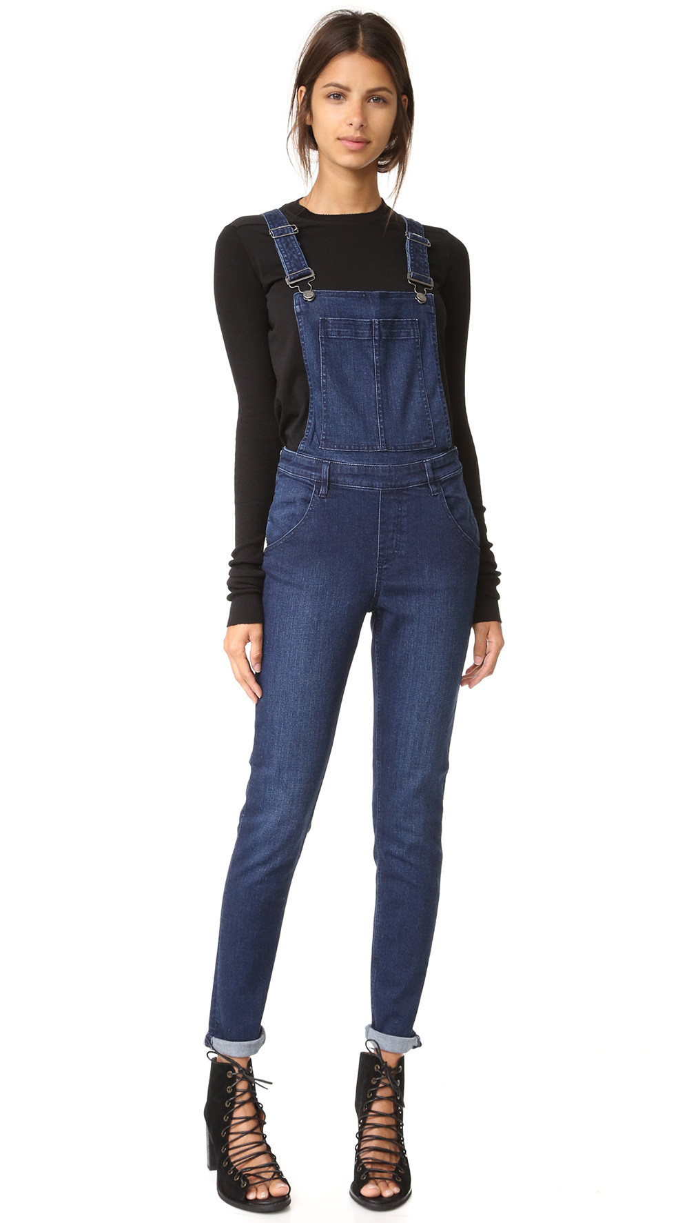 Cheap Monday Dungaree Ink Blue - The Overall Trend