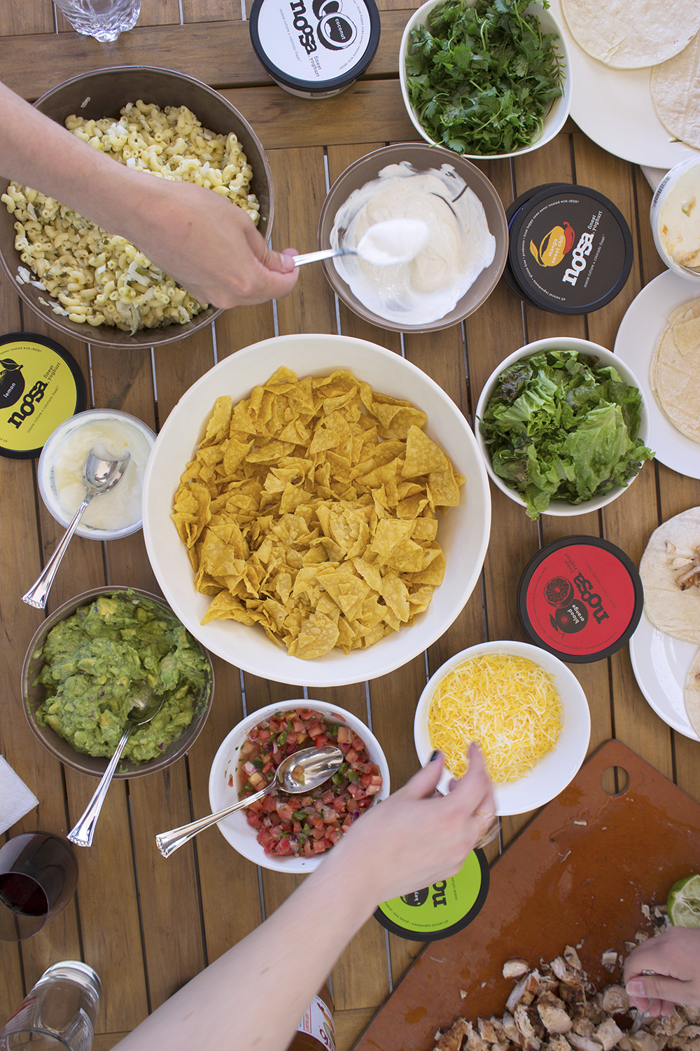 Taco Party with noosa Yoghurt