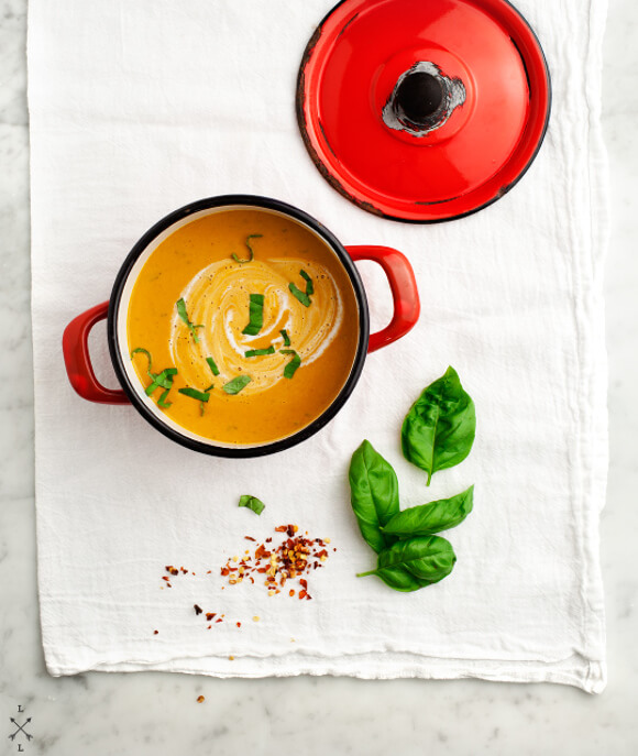Creamy Sundried Tomato Soup | Love and Lemons - 10 Comforting Fall Soups