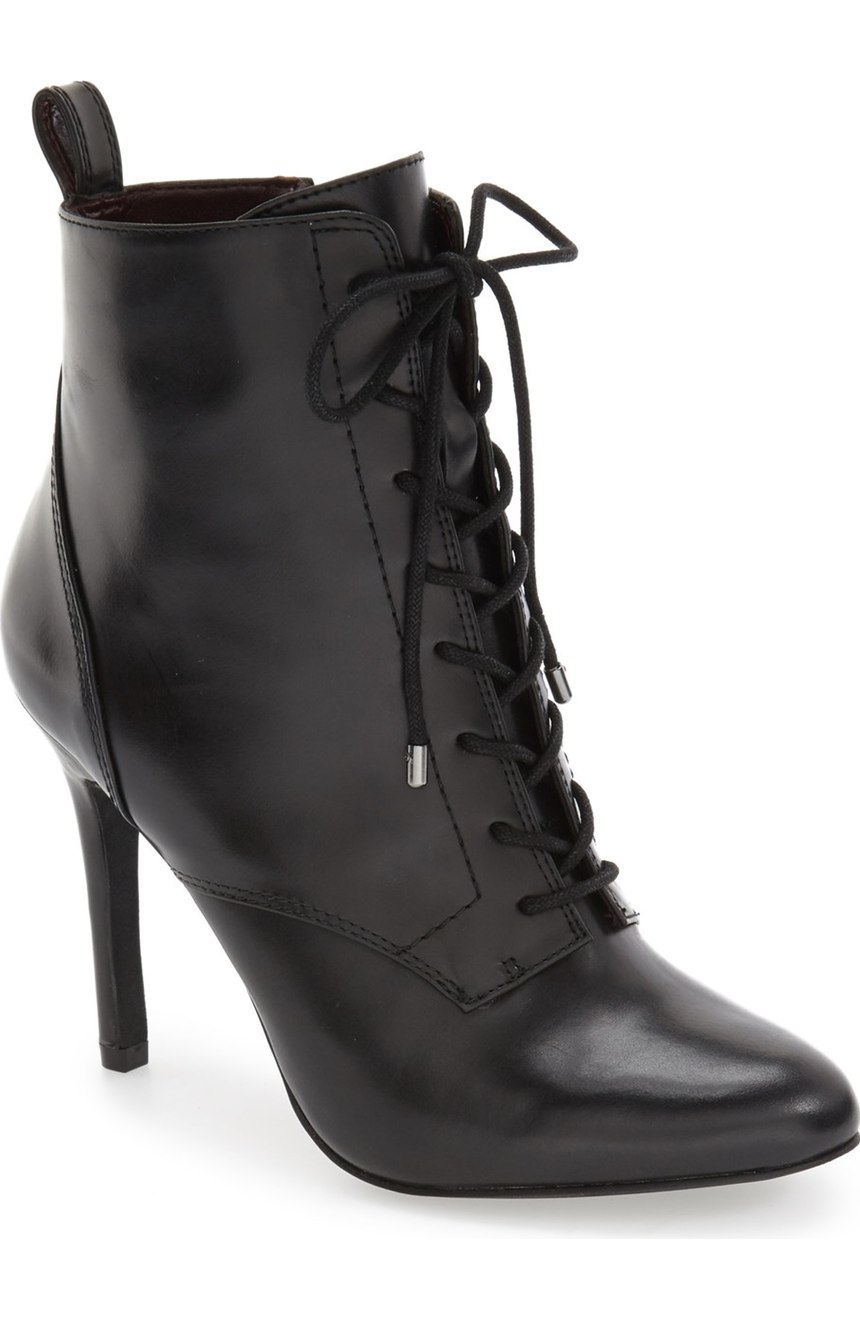 BCBGeneration 'Banx' Lace-Up Bootie - Witchy Boots