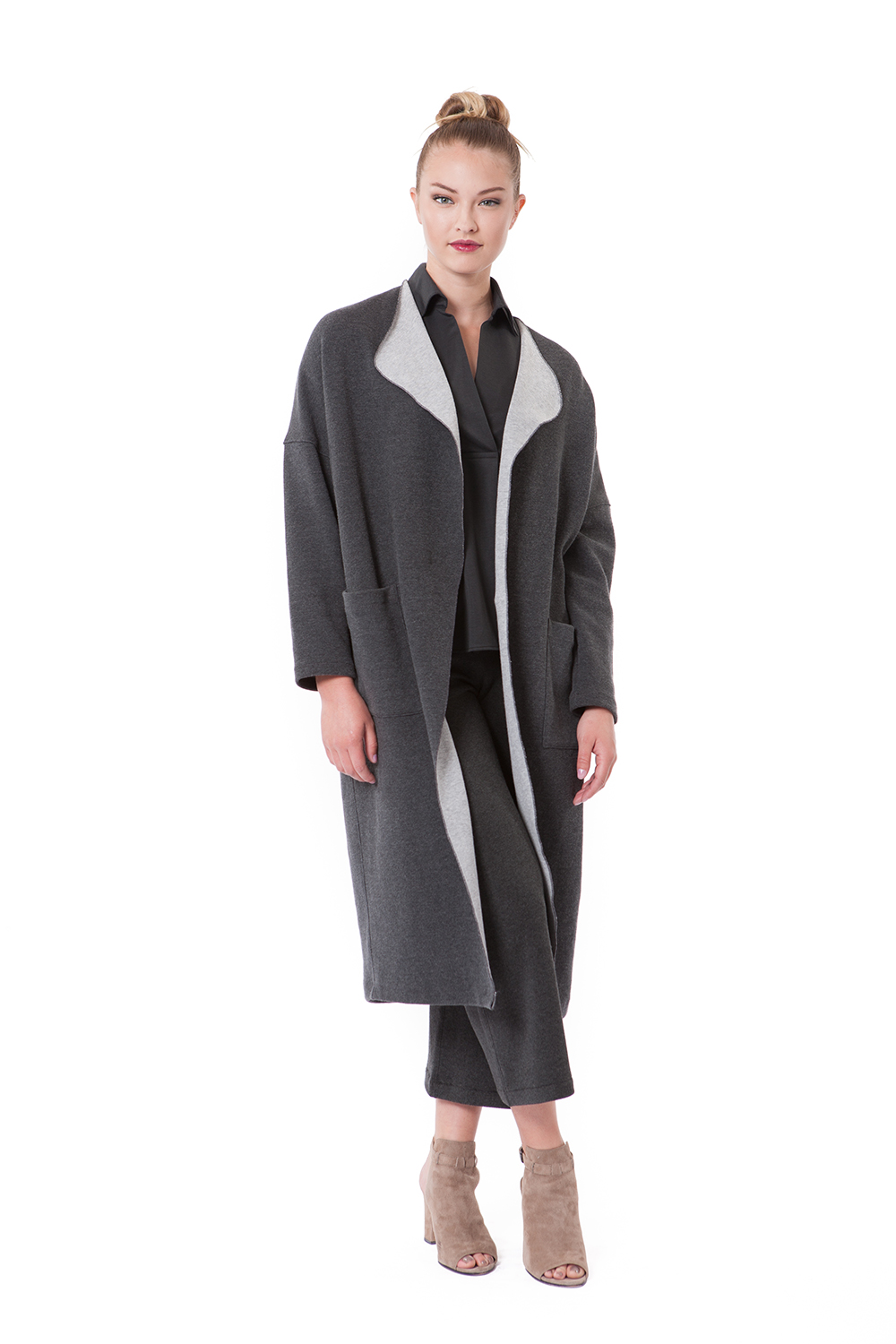 BUKI Cocoon Coat - BUKI Luxe Sportswear Collection