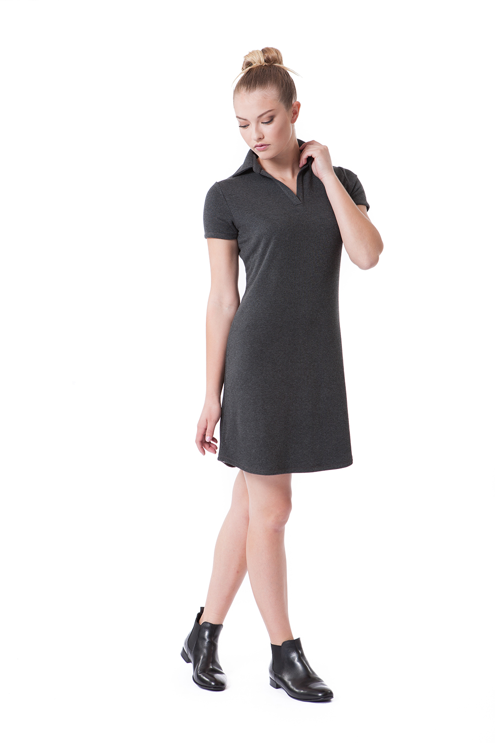 BUKI Polo Dress - BUKI Luxe Sportswear Collection