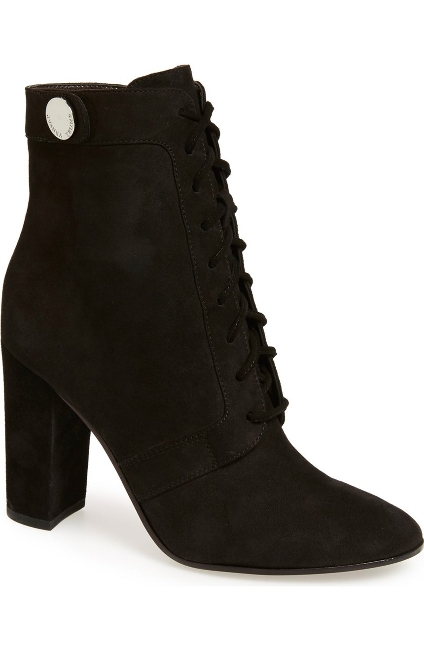 Ivanka Trump 'Regal' Lace Up Boot - Witchy Boots