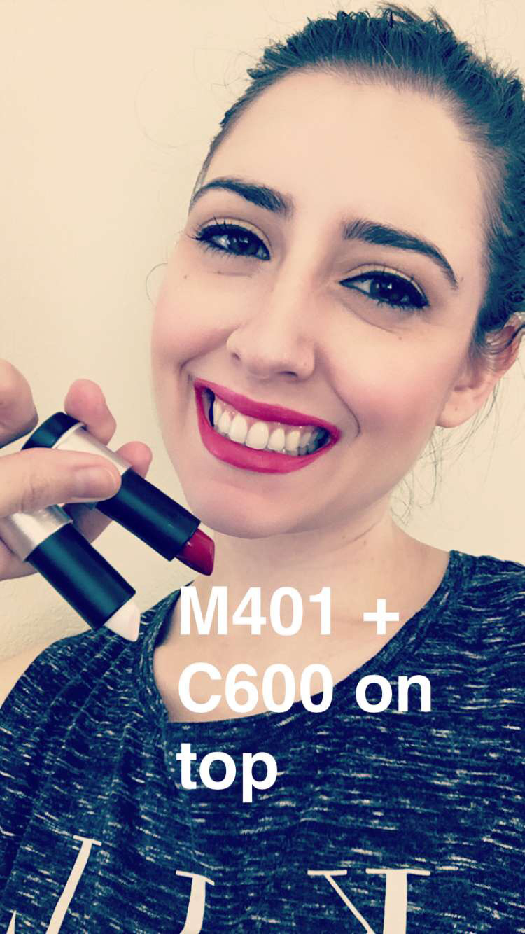 Make Up For Ever Artist Rouge Lipstick in M401 + C600 - Make Up For Ever Artist Rouge Collection Review