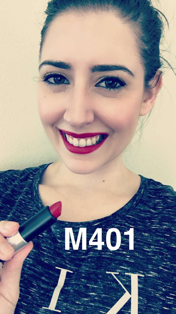 Make Up For Ever Artist Rouge Lipstick M401 - Make Up For Ever Artist Rouge Collection Review