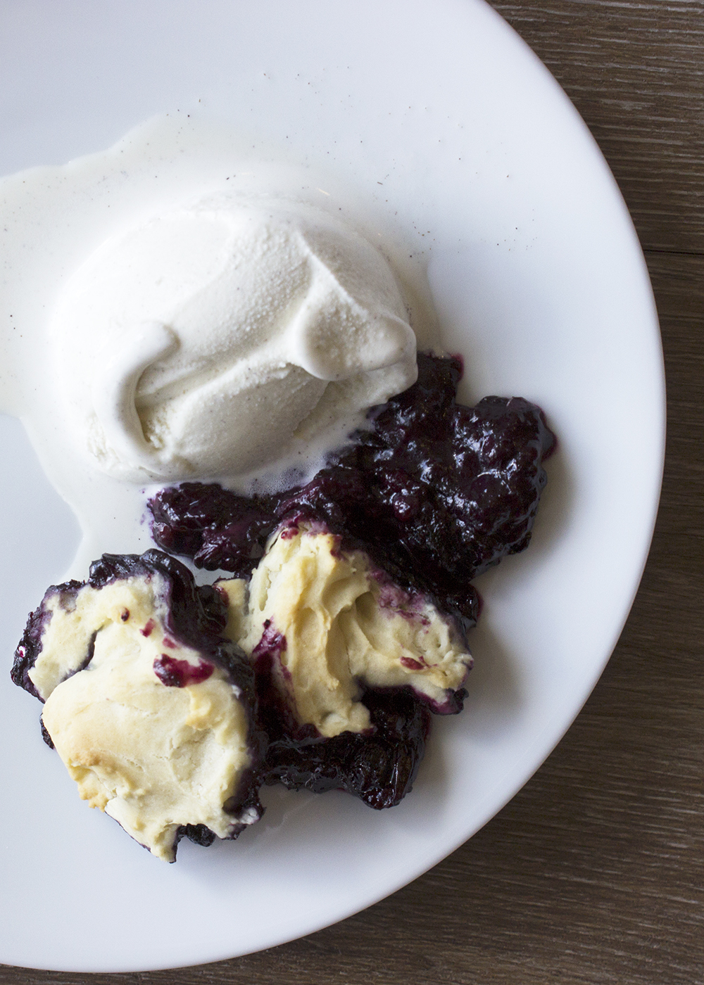 Mixed Berry Grunt with Ice Cream | Style and Cheek